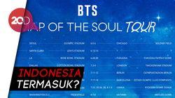 BTS Umumkan Jadwal dan Lokasi Konser Map of the Soul Tour