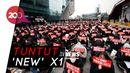 Lebih Dari 800 Fans X1 Demo di Depan Kantor CJ ENM