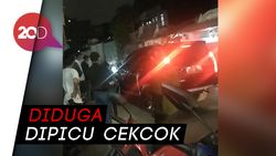 Ngeri! Mobil Lindas Pria di Bandung, Lalu Melesat Pergi