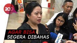 Puan Tagih Pemerintah Segera Serahkan Draf RUU Ombinubs Law!