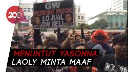 Warga Tanjung Priok Geruduk Kemenkum HAM, Desak Yasonna Minta Maaf