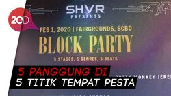 Jakarta Block Party Siap Sulap 5 Kawasan SCBD