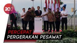 Sah! Jokowi Resmikan Runway 3 Bandara Internasional Soetta