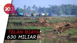 Telan Rp 630 Miliar, Floodway Cisangkuy Ampuh Atasi Banjir?