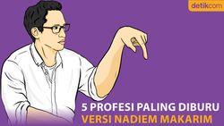 5 Profesi Paling Diburu Versi Nadiem Makarim