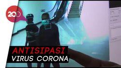Antisipasi Virus Corona, Bandara UHO Sultra Pasang Pendeteksi Suhu
