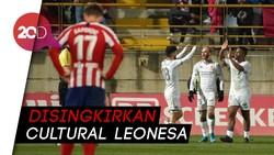 Atletico Dipermalukan Tim Kasta Ketiga di Copa del Rey
