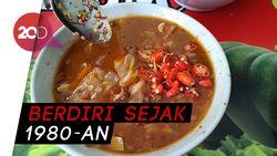 Gurih Lezat Tongseng Kambing Pak Agus di Masjid Sunda Kelapa