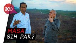 Jokowi Jamin Ibu Kota Baru Bebas Banjir dan Macet