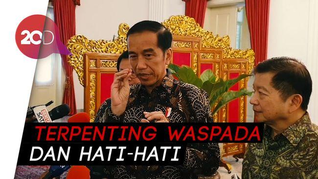 Jokowi Perintahkan Menkes Awasi Perkembangan Virus Corona