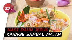 Bikin Harimu Lebih Semangat dengan Nasi Daun Jeruk Fiesta Karage!