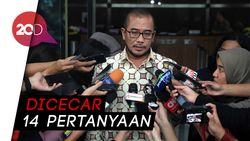 Komisioner KPU Hasyim Asyari Beri Kesaksian di KPK Soal Pemilu DPR