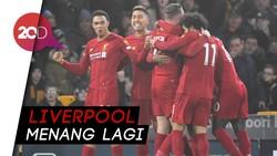 Liverpool Lanjutkan Tren Tak Terkalahkan, Kini Wolves Jadi Korbannya