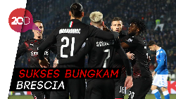 AC Milan Menang Lagi, Rebic Cetak Gol