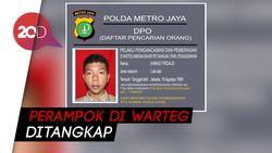 Detik-detik Penangkapan Pelaku Perampokan yang Viral di Warteg  Jaksel