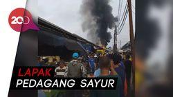 Pasar Caringin Bandung Terbakar!