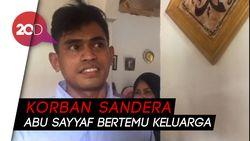 Suasana Haru Korban Sandera Abu Sayyaf Bertemu Keluarga