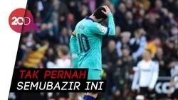 11 Tembakan Lionel Messi Tak Membuahkan Gol