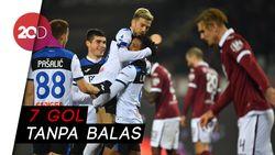 Pesta Gol Atalanta di Kandang Torino