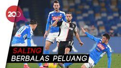 Juventus Tersungkur 1-2 di Kandang Napoli
