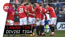 MU Pesta Gol Lawan Tranmere Rovers