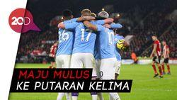 Man City Cukur Fulham 4 Gol Tanpa Balas