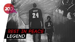 #RIPMamba Trending, Netizen Berduka untuk Kobe Bryant