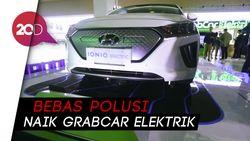 Yuk Ikut Jaga Polusi dengan Naik Mobil Listrik GrabCar Elektrik