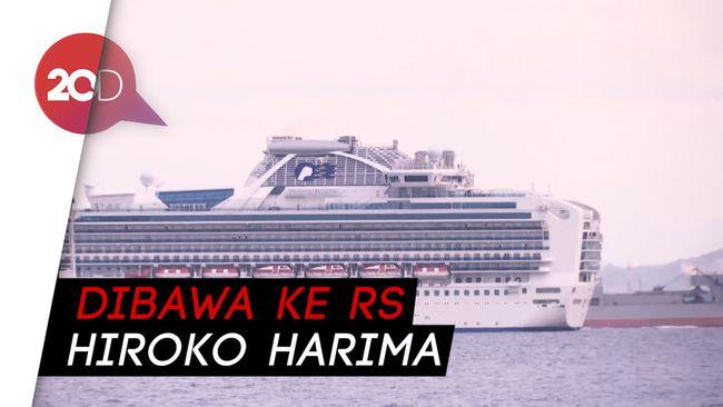 Jepang Pastikan 10 Penumpang Kapal Pesiar Positif Corona
