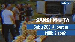Saksi Mata: Tiga Kurir Sabu Ditembak Mati, Bawa 288 Kilogram Sabu