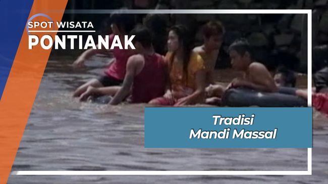 Tradisi Mandi Massal Tuan U Chiek Di Sungai Kapuas Pontianak