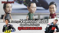 Sudah Saatnya Rossi Digantikan oleh Quartararo