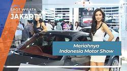 Meriahnya Indonesia Motor Show  Jakarta
