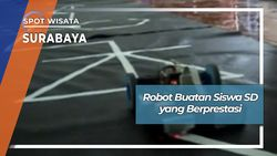 Robot Buatan Siswa SD yang Berprestasi, Surabaya
