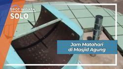 Jam Matahari di Masjid Agung Solo