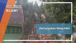 Pertunjukan Reog Mini Desa Kedunggalar Ngawi