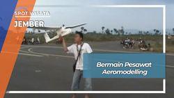 Aeromodelling, Permainan Pesawat Model Di Landas Pacu Notohadinegoro Jember