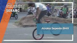 Atraksi Sepeda BMX Serang Banten