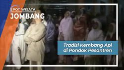 Tradisi Kembang Api di Pondok Pesantren Jombang Jawa Timur
