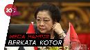Cerita Mega: Hampir Berkata Kotor Karena Anaknya Diciduk KPK Jelang Pilkada