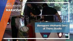 Beragam Wahana Seru di Trans Studio Makassar