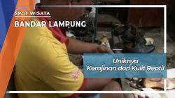 Kerajinan Sepatu Kulit Reptil Way Halim Permai Sukarame Bandar Lampung