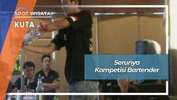 Serunya Kompetisi Bartender Kuta Bali