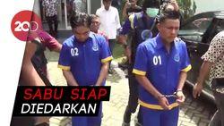BNNP Sultra Tangkap Dua Kurir yang Bawa 1 Kg Sabu