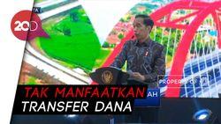 Jokowi Kecam Banyak Dana Macet di BPD