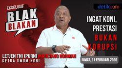 Tonton Blak-blakan Ketua Umum KONI: Ingat KONI, Prestasi Bukan Korupsi