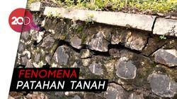 15 Ha Tanah Ambles di Batang, Jalanan Retak