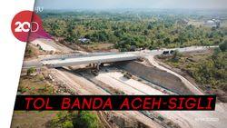 Saat Jokowi Menengok Proyek Tol Pertama di Aceh