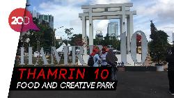 Sah! Anies Resmikan Tempat Nongkrong Thamrin 10