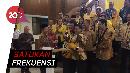 Pelukan Airlangga-Sohibul Usai Bahas Pilkada-Omnibus Law